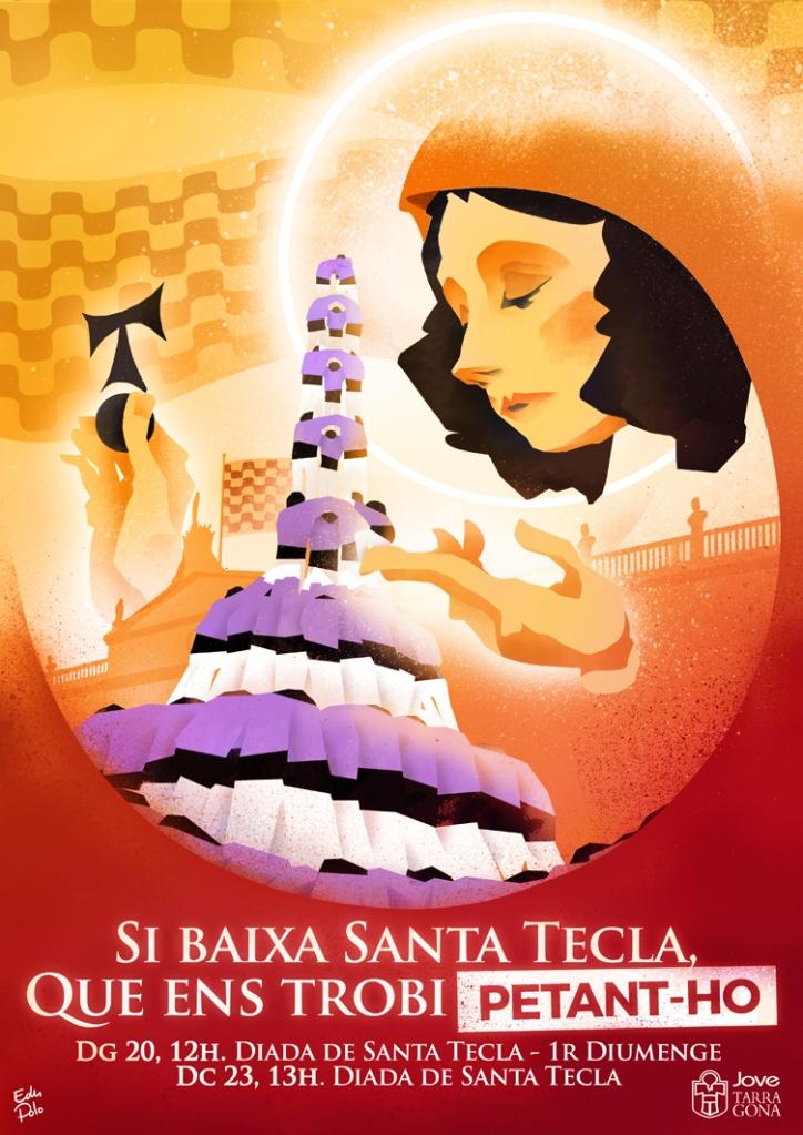cartell santa tecla low